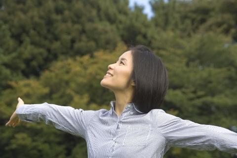 幸せホルモン「セロトニン」を増やす呼吸法