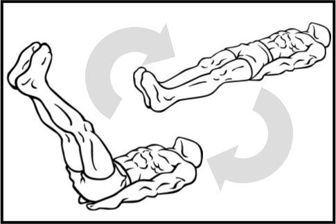 腹筋を割る「レッグレイズ」は45度以上は意味ナシ