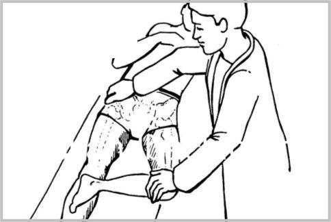 腰痛の原因を見極める「パトリックテスト」