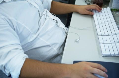肩こりの原因はキーボードの打ち方