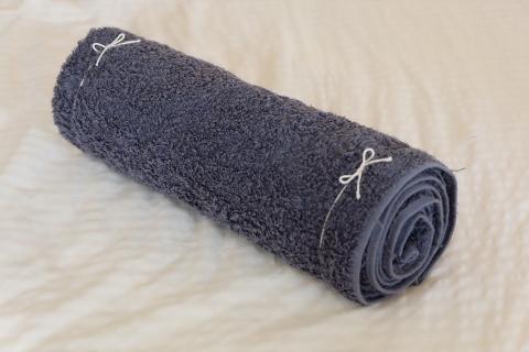 ストレートネックを矯正「タオル枕」作り方