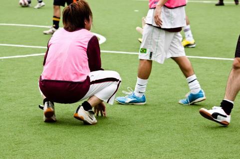 サッカー練習メニューの上達ツボ「アメと反復」